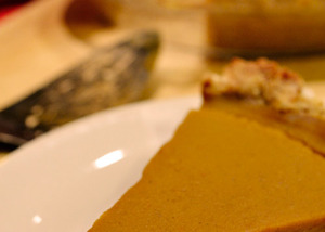 Pumpkin PIe - Plant-based Recipes for a Gluten-free Diet