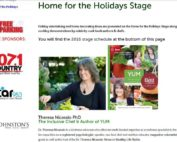 Dr. Theresa Nicassio on Stage at the West Coast Christmas Show Nov 18-20, 2016