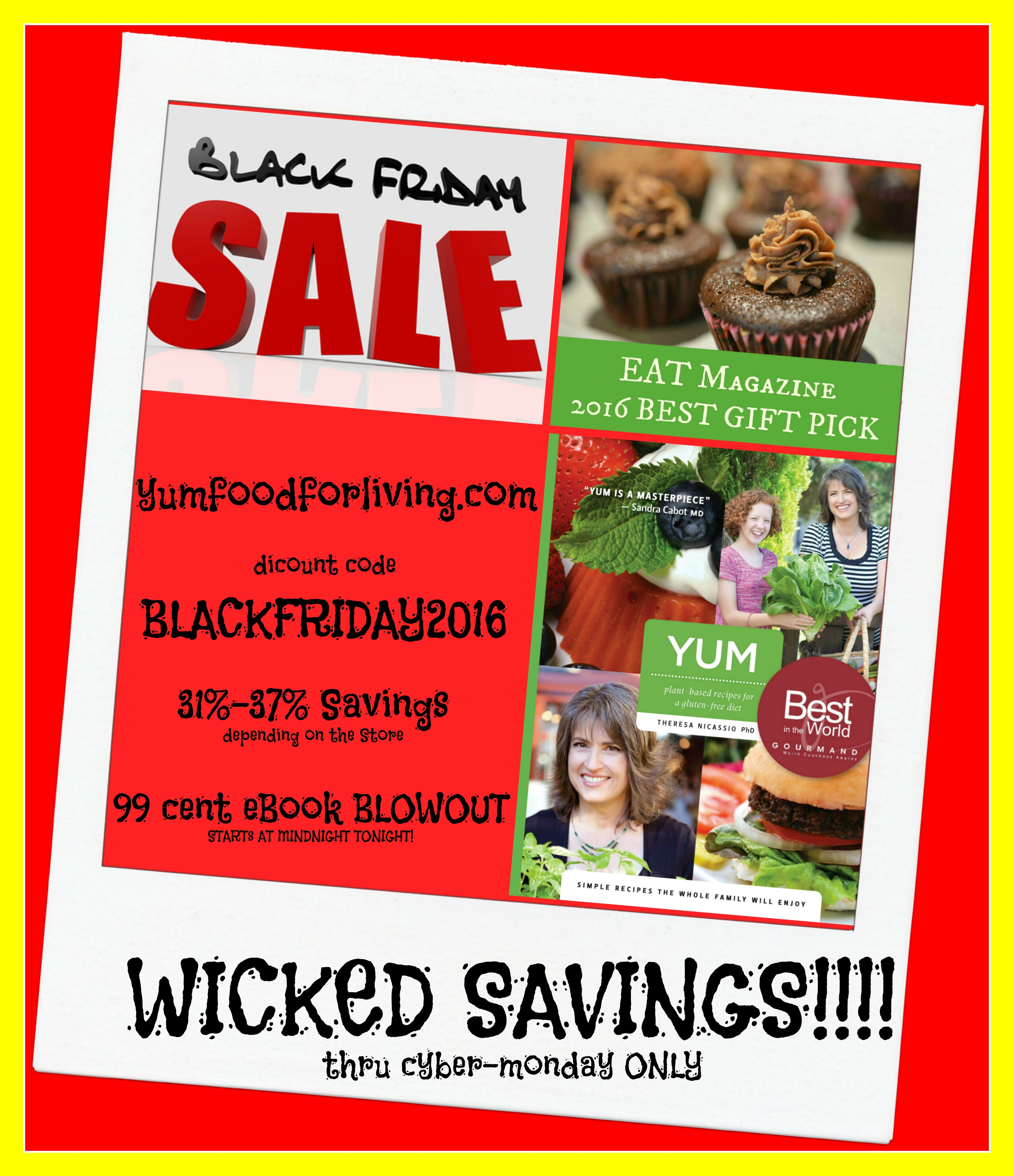 Black Friday - Cyber Monday Blowout Sale