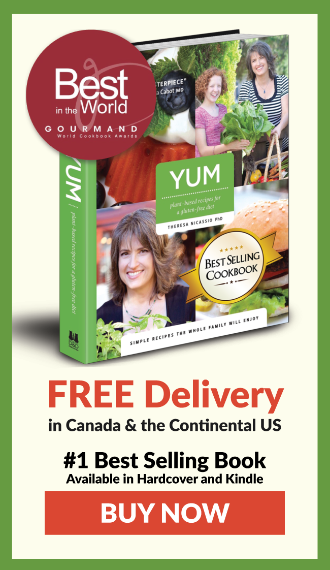 YUM Plant-Based Recipes for a Gluten-Free Diet