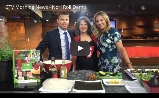 CTV Morning News - Nori Rice Paper Rolls