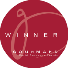Gourmand World Cookbook Award Winner