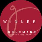 Gourmand World Cookbook Award Winner