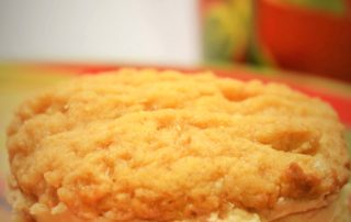 Gluten-Free Peanut-Butter Cookie Sandwiches (sugar-free & vegan)