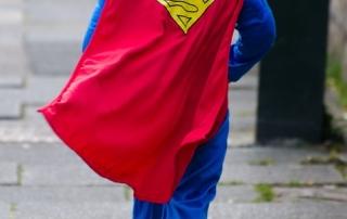 Pixaby child SUPERMAN
