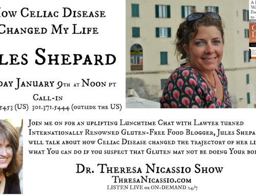 Jules Shepard – How Celiac Disease Changed My Life | Lunchtime Radio