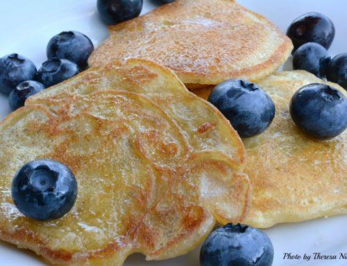 Old Fashioned Pancakes (gf/v/sf)