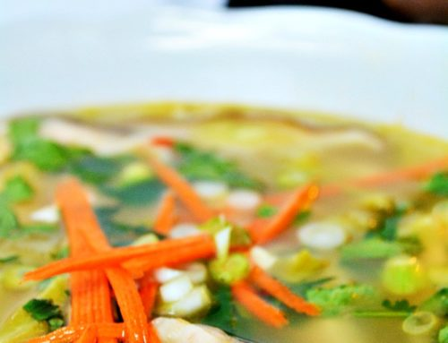 Spicy Thai Lemongrass Soup