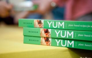 Stack of YUM Books