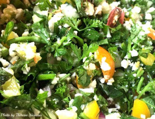 YUM Tabbouleh Salad (gf, vegan, paleo, low-GI)