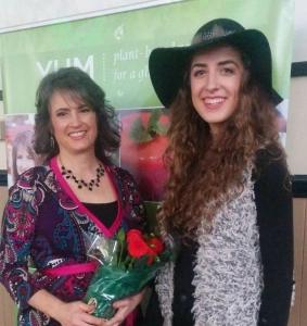 Tessa Mouzourakis at YUM Launch