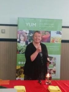 Val Vartnou at YUM Launch for Canadian Celiac Association
